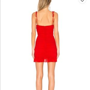 Lovers + Friends Dresses - NEW Revolve Lovers and Friends Amy Dress Red XXS